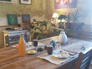 Ferme Rosane | Chambres d'hôtes Ariège Pyrénées - La salle à manger