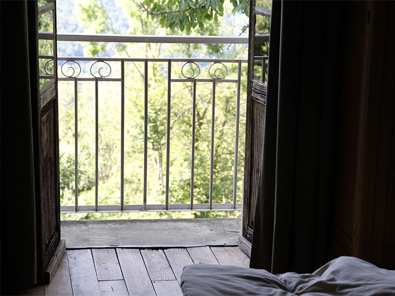 Ferme Rosane | Chambres d'hôtes Ariège Pyrénées - La chambre et la vue