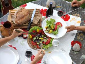 Ferme Rosane | Chambres d'hôtes Ariège Pyrénées - Les repas