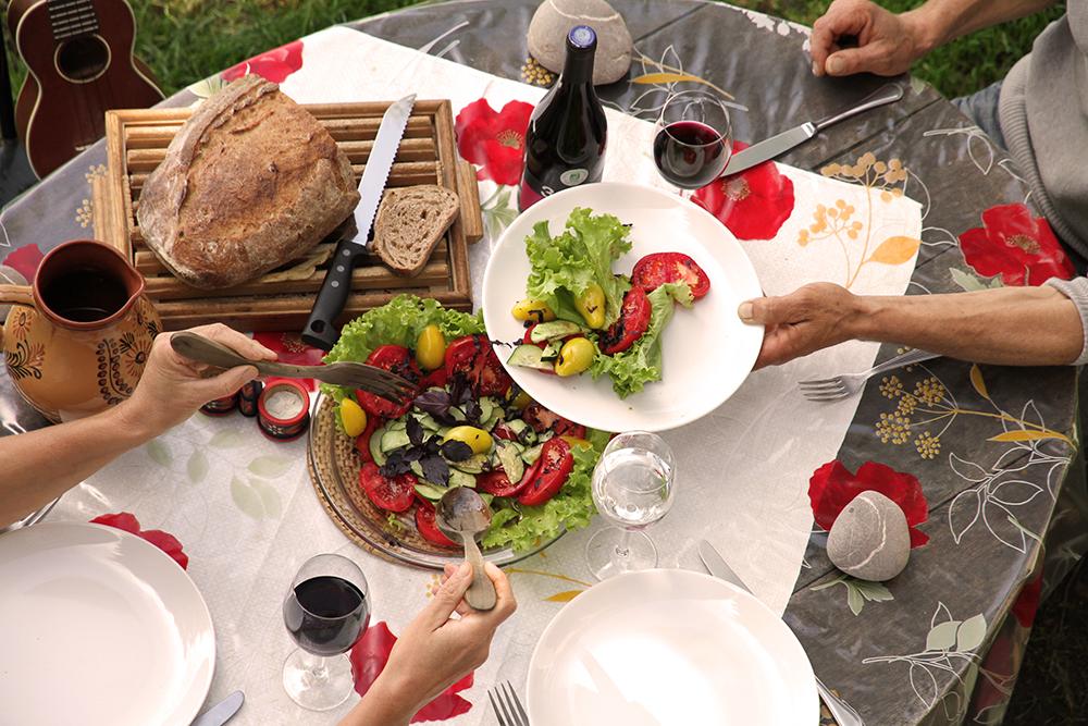 Ferme Rosane | Chambres d'hôtes Ariège Pyrénées - Le repas