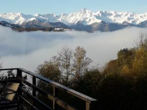 Ferme Rosane | Chambres d'hôtes Ariège Pyrénées - Vue neige
