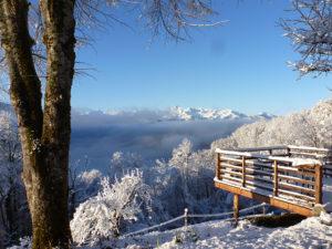 Ferme Rosane | Chambres d'hôtes Ariège Pyrénées - Vue Pyrénées