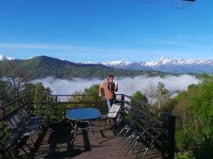 Ferme Rosane | Chambres d'hôtes Ariège Pyrénées - Terrasse au soleil
