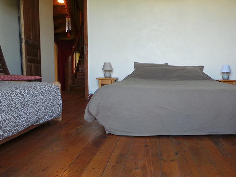Ferme Rosane | Chambres d'hôtes Ariège Pyrénées - Chambre blanche